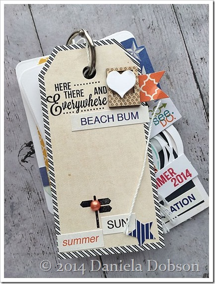 Summer 2014 mini album page 6 by Daniela Dobson