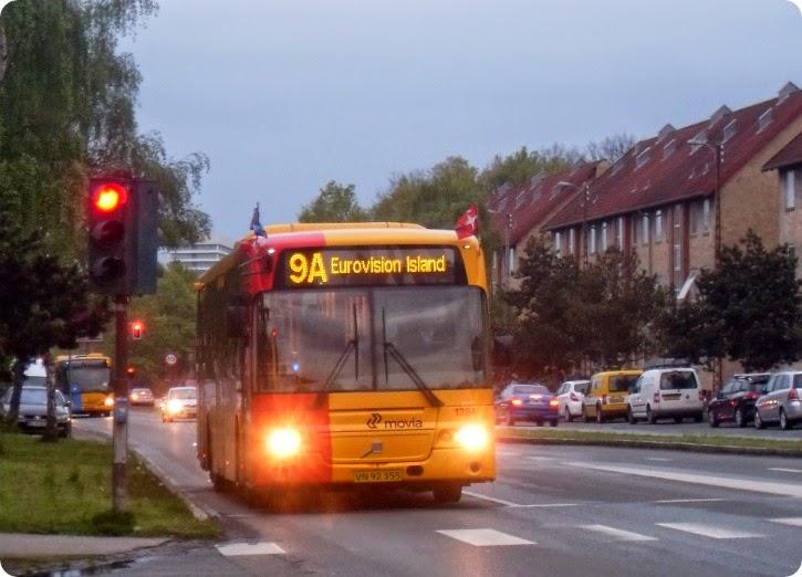 Tag bussen til den store finale