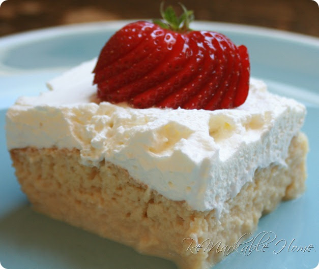 Easy Tres Leches Cake With Cake Mix