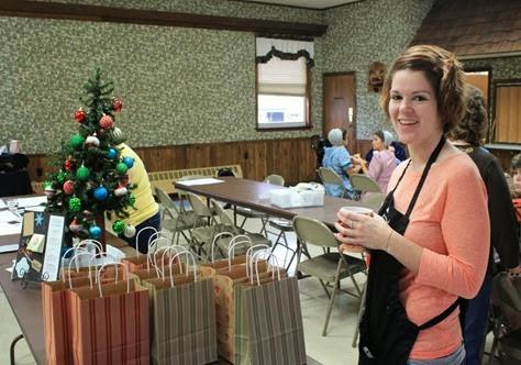 Goodie bag table_Christmas Card DAy 2013 IMG_8916