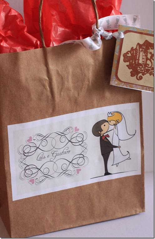 diario da noiva embalagem