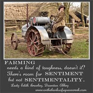 lady edith farming