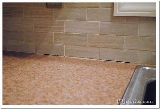 fixing grout lines