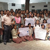 International Ozone Day Rally at Santosh Nagar Girls Branch