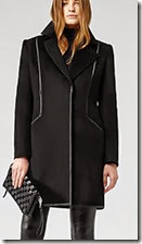 Reiss Contrast Trim Coat