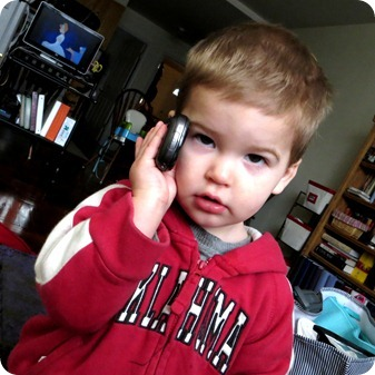Nolan on the phone