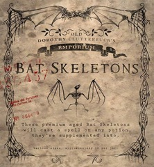 Bat Skeletons