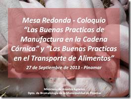 Buenas prácticas de manufactura y en el transporte de alimentos