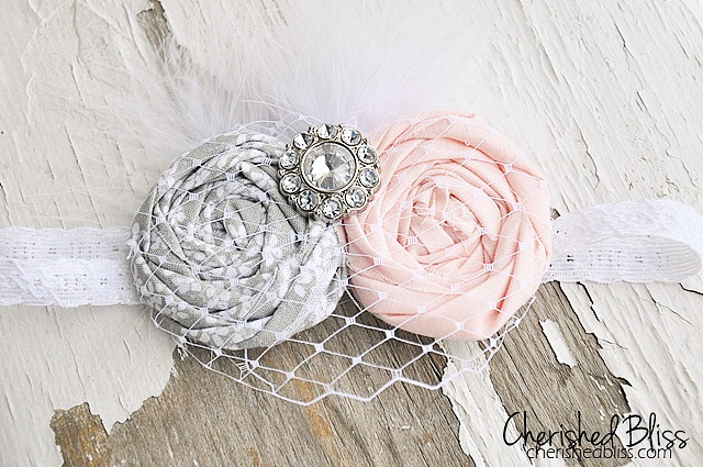 Baby Vintage Headband Tutorial by Cherished Bliss - so darling!