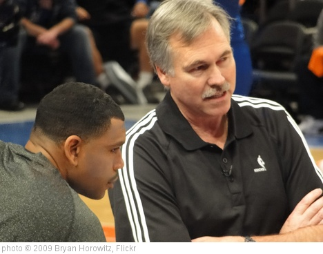 'Mike D'Antoni and Allan Houston' photo (c) 2009, Bryan Horowitz - license: http://creativecommons.org/licenses/by-sa/2.0/