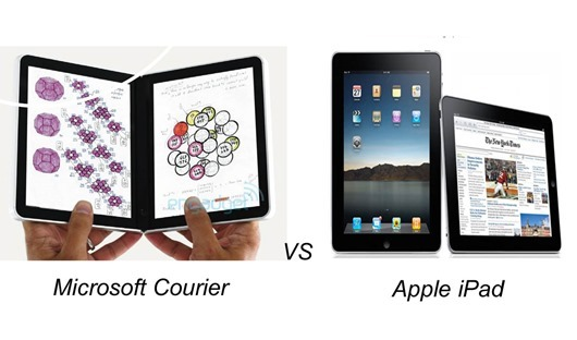 Courier vs. Tablet