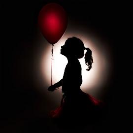 Birthday balloon by Zoe Bond - Babies & Children Child Portraits