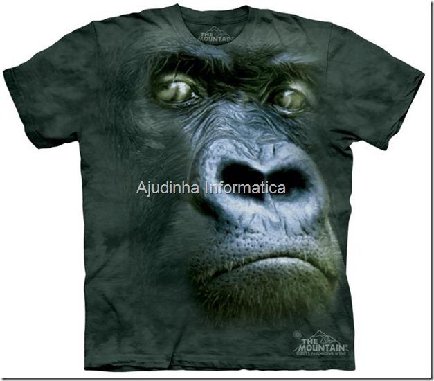 camiseta goril