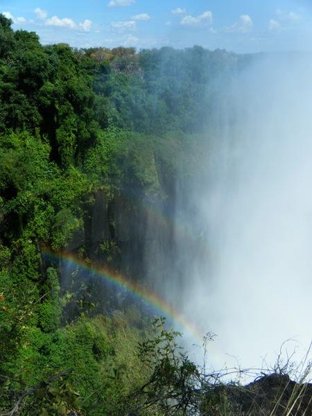 Twin rainbows.
