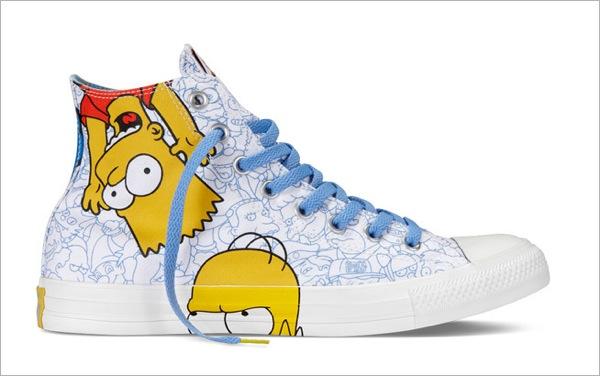 Simpsons Sneakers converse 3