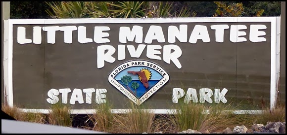 05 - Little Manatee River SP - Entrance