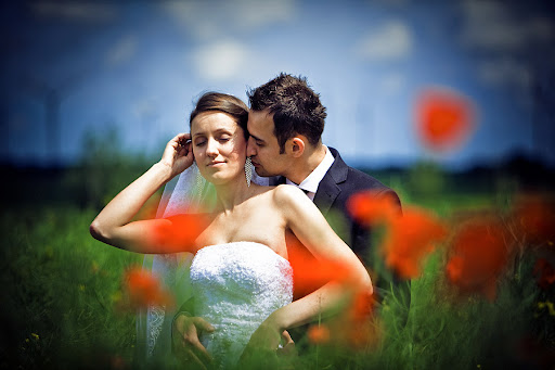 Fotografia ślubna , Piękna sesja ślubna w Nowej Soli