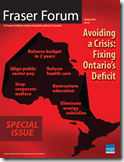Avoiding a Crisis Fixing Ontario Deficit