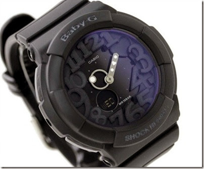 Casio Baby-G BGA-131-7B Neon Illuminator 130 Series black 03