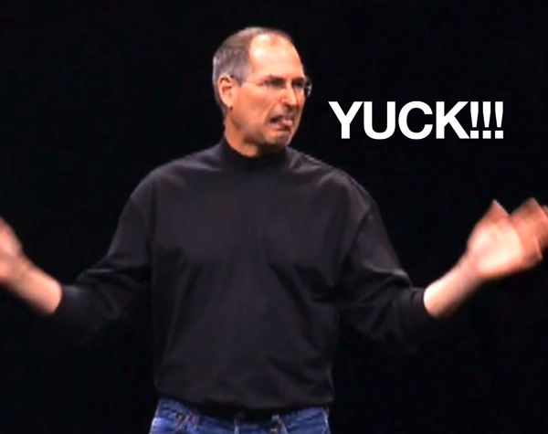 Hey samsung heres a reminder from steve jobs on why people hate styluses