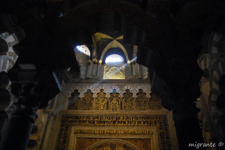 haz de luz - mezquita de córdoba