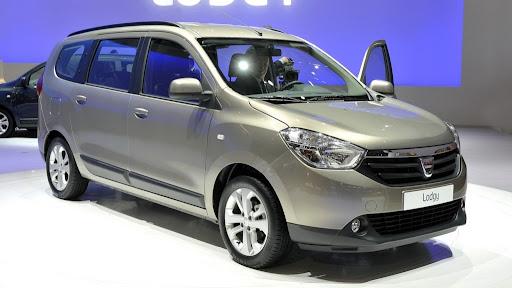 Yeni 2012 Dacia Lodgy MPV Cenevre'de Tanıtıldı