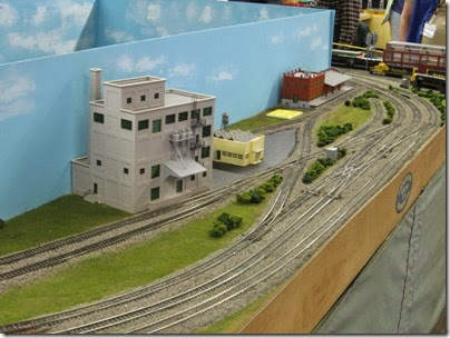IMG_5366 Industrial Area on the LK&R HO-Scale Layout at the WGH Show in Portland, OR on February 17, 2007