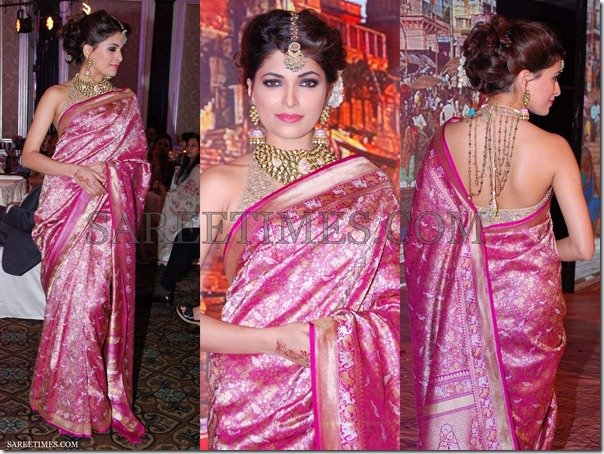 Pink_Designer_Silk_Saree