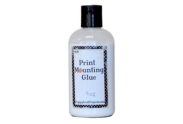 Print Mounting Glue 4x6
