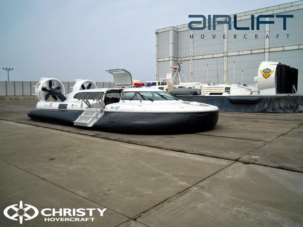 Катер на воздушной подушке Pioneer MK3 для морских сил Кореи