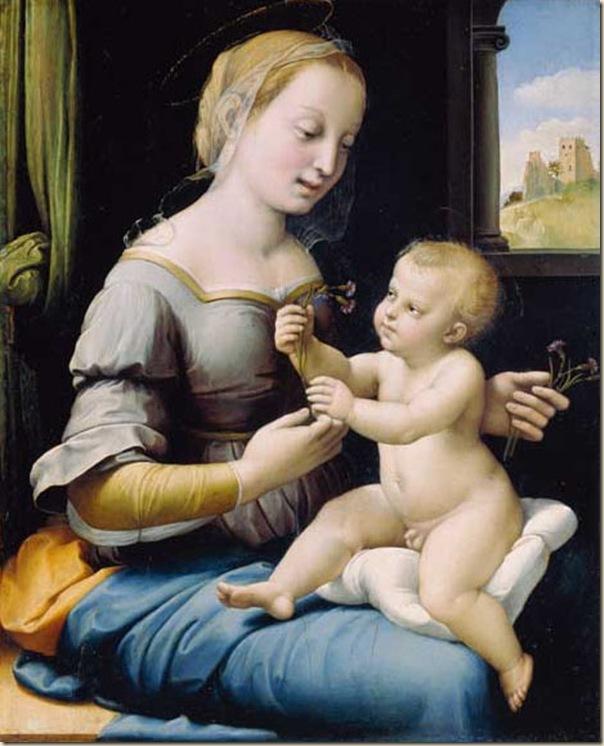 Raphael, Vierge à l'enfant