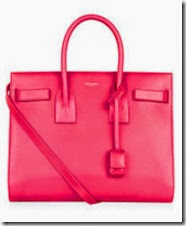 Saint Laurent Neon Pink Handbag
