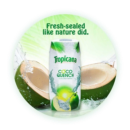 Tropicana Coco Quench Wobble
