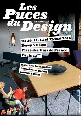 wanafoto puces design 2012 bercy village paris 12e. Black Bedroom Furniture Sets. Home Design Ideas