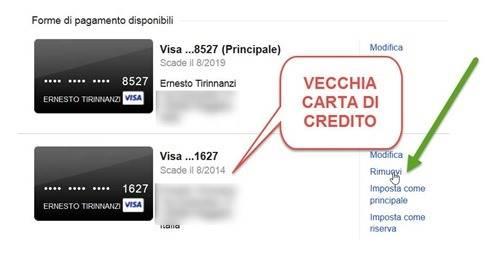 rimuovere-vecchia-carta-di-credito