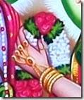 Sita's hand