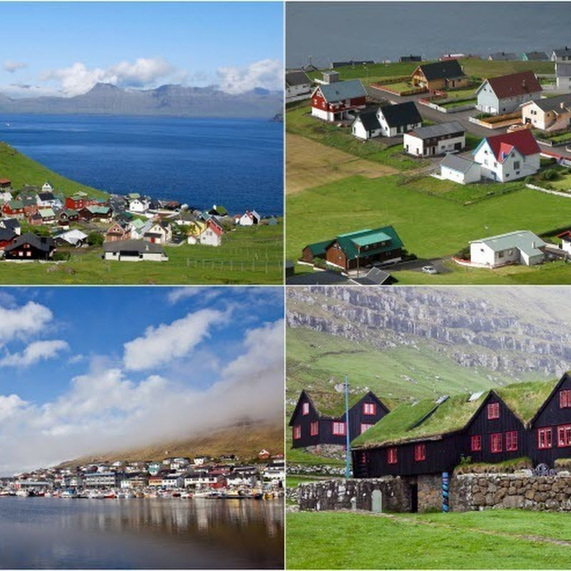 Colorful and Picturesque Villages of Faroe Islands