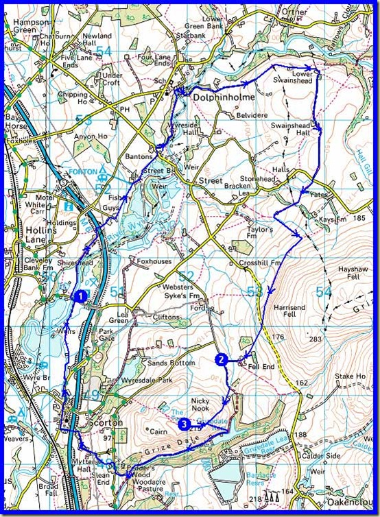 Our route - 20km, 350 metres ascent, taking about 6 hours including stops