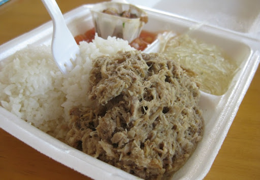 Kalua Pork at Koloa Fish Market