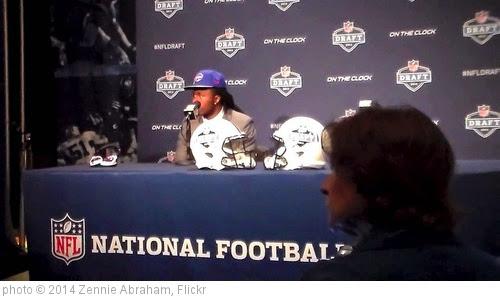 'Sammy Watkins Highlights Interview, Buffalo Bills WR Interview NFL Draft' photo (c) 2014, Zennie Abraham - license: https://creativecommons.org/licenses/by-nd/2.0/
