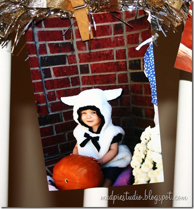 Halloween Photo Garland Tutorial by Mud Pie Studio