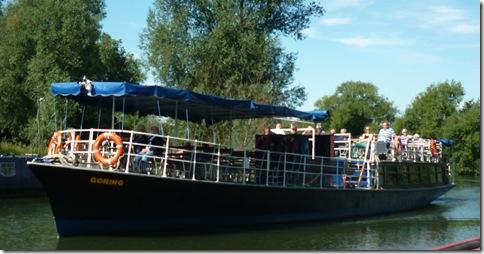trip boat Goring