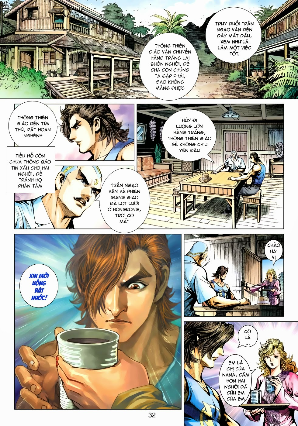 Tân Tác Long Hổ Môn chap 488 - Trang 31
