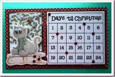 Days 'Till Christmas Advent Calendar