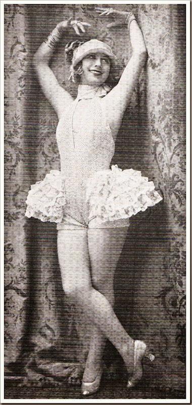 Conchita Piquer bailando 1922