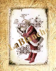 La Blanche Rubber Stamp