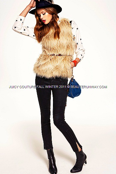 JUICY COUTURE Fall Winter 2011 Glamour