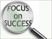 Focus on Success Magnifying Glass