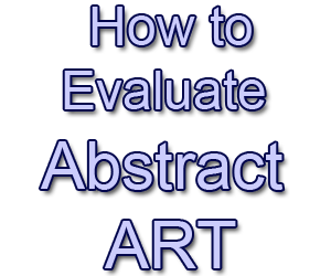 evaluate abstract art