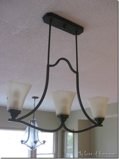 Island lighting kitchen, oil rubbed bronze